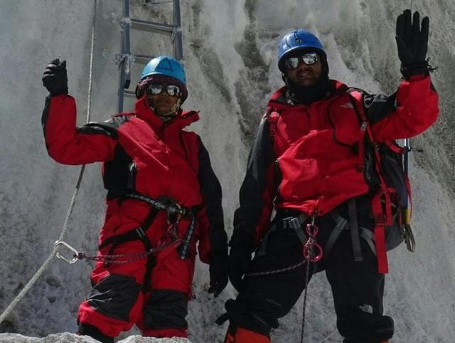Pune residents Dinesh Rathod and wife Tarakeshwari, both police constables, grabbed headlines in May after they claimed to have climbed Mount Everest.