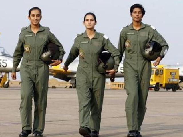The move to allow women in fighter cockpits had met with resistance in the defence ministry.