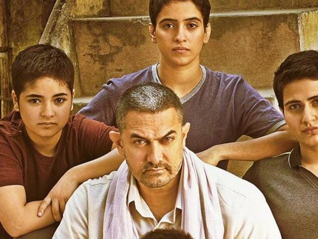 Aamir Khan on the new poster of Dangal.