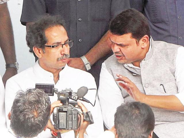 Sources from the BJP told HT that Fadnavis, who was camped in Delhi since morning, was trying until late Monday evening to get a berth for ally Sena.