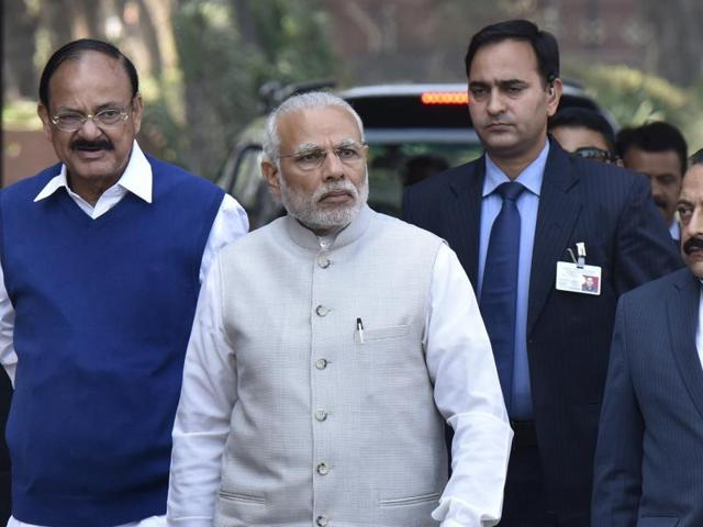Prime Minister Narendra Modi is likely to induct senior leaders from the poll-bound states of Uttar Pradesh and Uttarakhand and drop ageing ministers when a long-awaited cabinet reshuffle is expected to take place on Tuesday.
