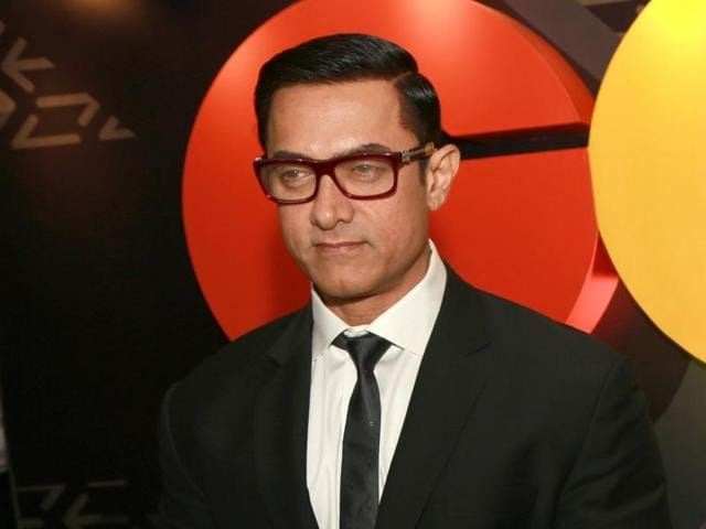 New Delhi: Actor Aamir Khan at the Red Carpet of
