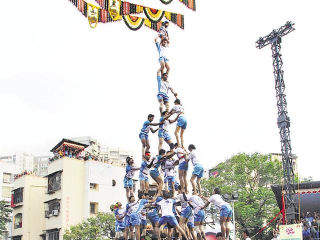 Don't worry about height curbs: BJP to Dahi Handi mandals