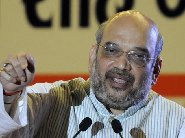 BJP national president Amit Shah has been addressing a spate of booth level meetings to oil the party machinery rather than getting bogged down by the ongoing debate on chief ministerial face of the party.