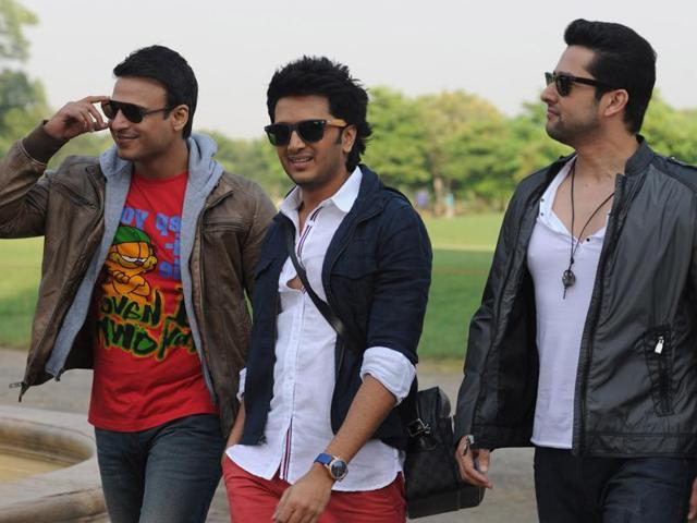 A still from the film Great Grand Masti, which has been leaked online.