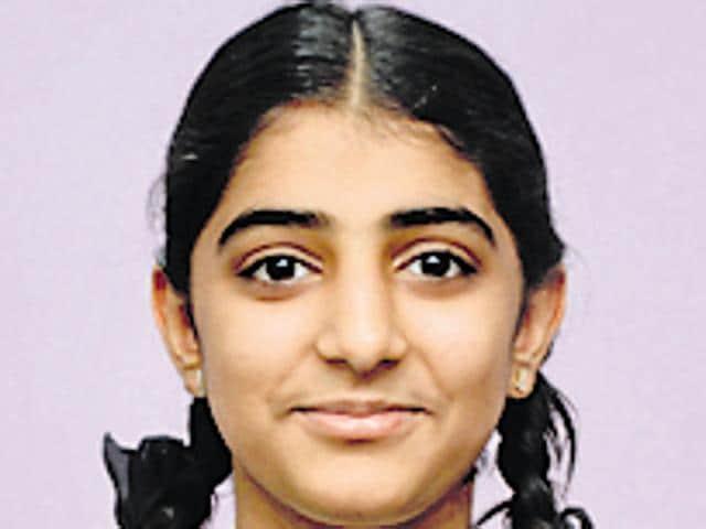 Sakshi Rajwani,SSC topper,FYJC