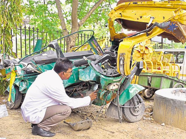 Ramesh told cops that legislator Nand Kishore Maharia had coerced him to say that he was behind the wheels of the politician's BMW car when it rammed into an autorickshaw, killing three people and injuring five on Friday night.