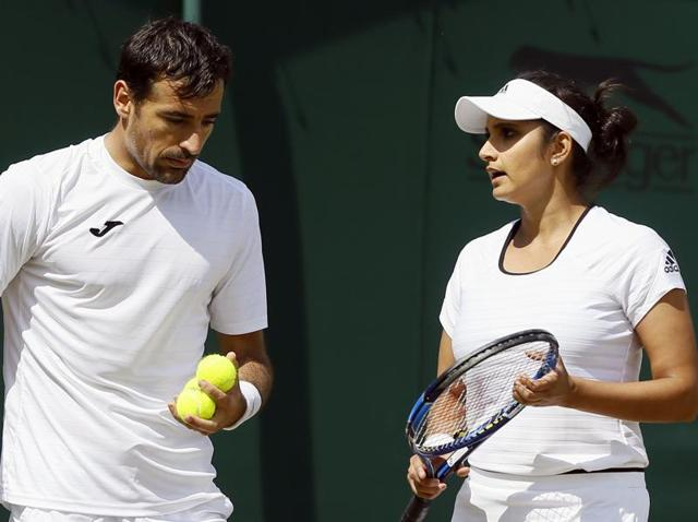 Wimbledon: Sania Mirza-Ivan Dodig crash out after loss to unseeded Brits