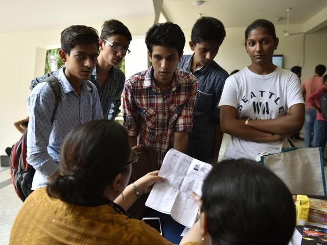 Even in off-campus colleges, the second cutoff list remained high for BCom (hons) and Economics (hons), despite the dip.