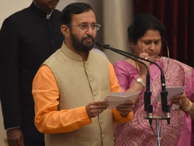 There's a message in Javadekar's promotion, Vasava's dismissal