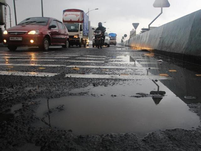 Thane,Kapurbawdi flyover,Maharashtra State Road Development Corporation