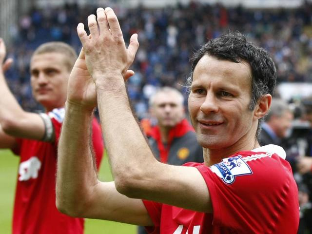 Ryan Giggs,Manchester United,Premier League