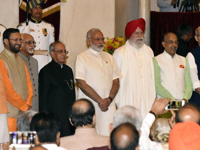 Modi cabinet,Modi ministry expansion,Swearing in