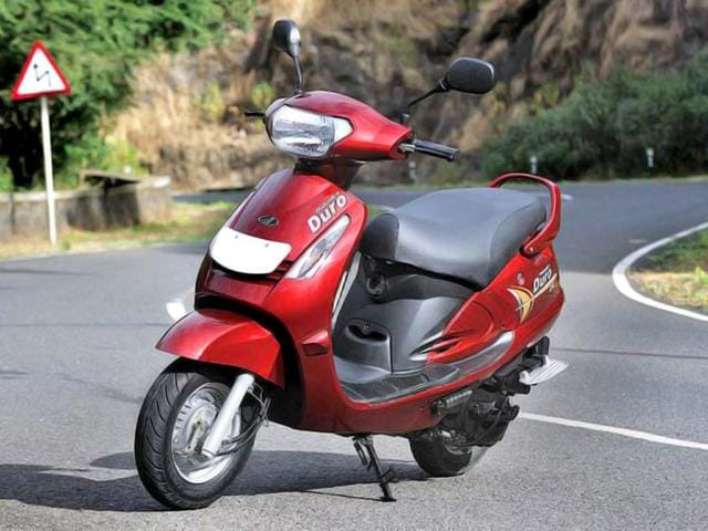 Mahindra's scooters business has fared better with its models such as Gusto, Rodeo and Duro than the motorcycles segment, where it currently sell the Mojo and Centuro models.