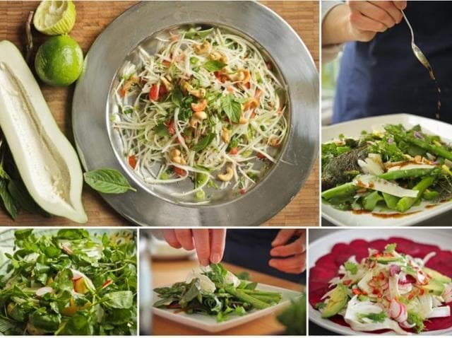 Dalton Wong, trainer to Hollywood star Jennifer Lawrence, founder of TwentyTwo Training, and co-author of The Feel Good Plan, lists his tips on how to enjoy the freshest seasonal ingredients in a nutritious and delicious salad.