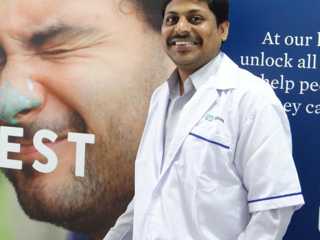 Dr Praveen Raj, chief manager, medical services is currently supporting the medical work of the diabetes team at Abbott.