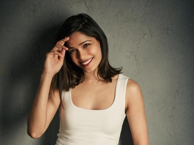 Freida Pinto says she is excited to be invited to The Academy of Motion Picture Arts and Sciences.