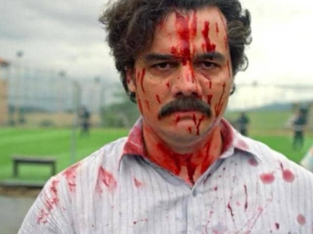 Wagner Moura as Pablo Escobar in the Netflix Original Series Narcos.