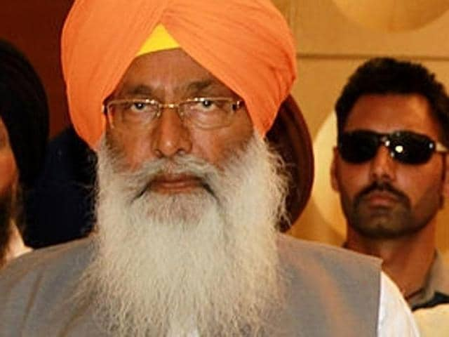 SAD secretary general Sukhdev Singh Dhindsa (left) says the 'blasphemy' was committed in front of Kejriwal.