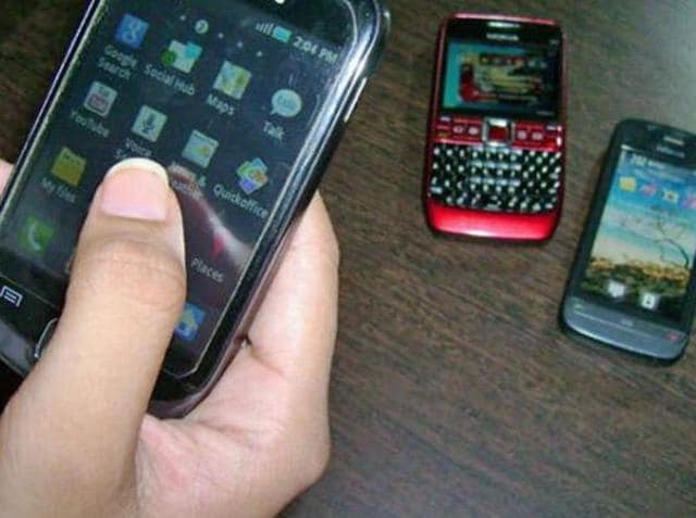 The man from Old Delhi's Sadar Bazar area used three prepaid SIM cards, which he procured through fake identities, to send the salacious content.(PTI Photo/Representative Image)