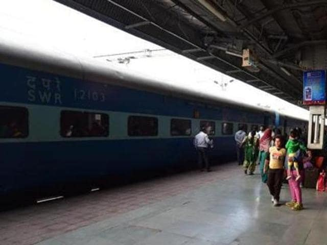 In a petition filed on May 3, 2016, Tongad alleged that the Indian Railways project of laying 140km new track from Noida in UP to Rewari in Haryana will affect the ecology of the area because the Hindon River's 800-metre stretch in Noida is being averted without obtaining environmental clearance.(HT File Photo)