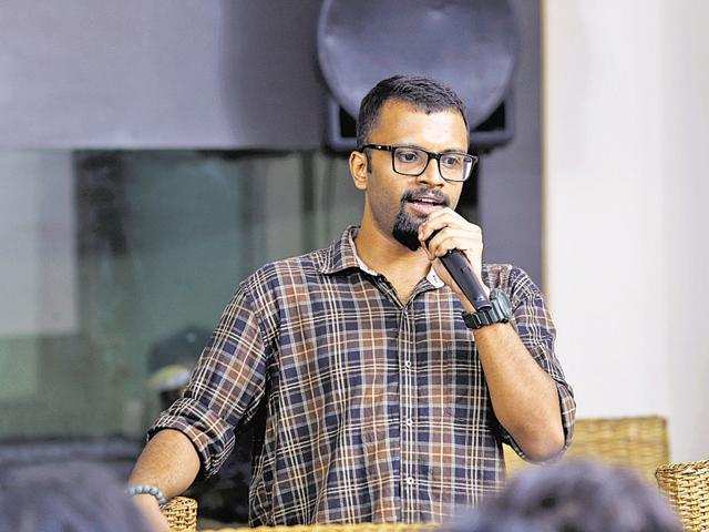 To instantly connect with complete strangers and making them laugh is not easy, says George Vivian Paul, a professional standup comedian.