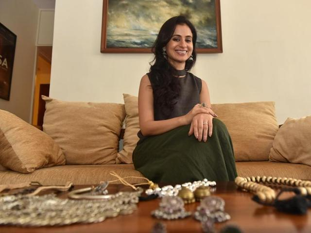Actor Rasika Dugal has a fetish for silver jewellery