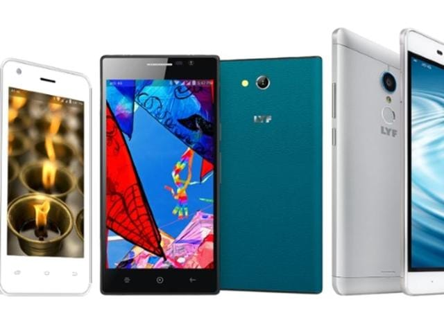 All Lyf branded handsets come with support for 4G and VoLTE (voice over LTE), which is expected to provide better call quality.