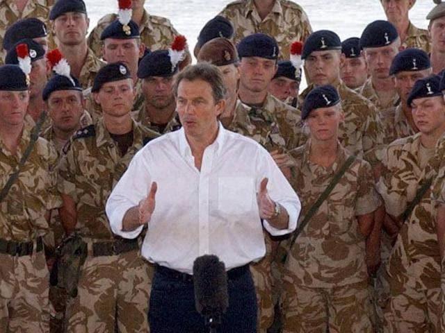 Tony Blair,George Bush,British PM