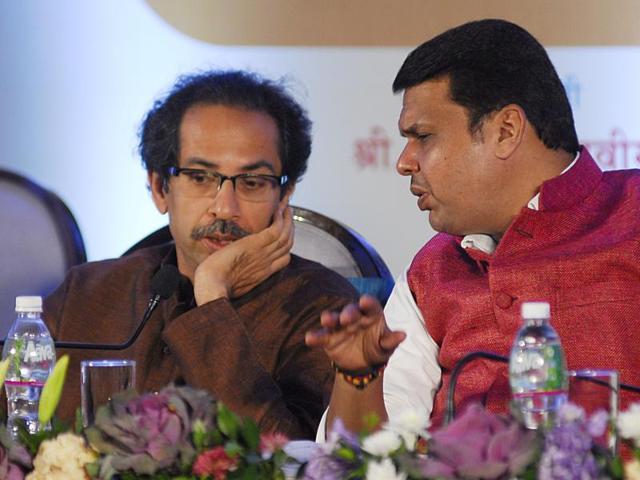 Shiv Sena,Uddhav Thackeray,Devendra Fadnavis
