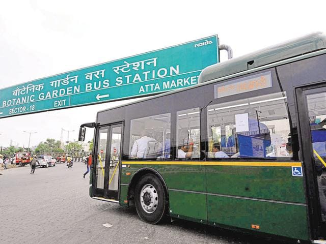 At present, the Uttar Pradesh State Road Transport Corporation (UPSRTC) has a fleet of 40 buses that is operating between Noida and Greater Noida via Dadri-Surajpur-Chhalera Road and the Noida-Greater Noida Expressway.