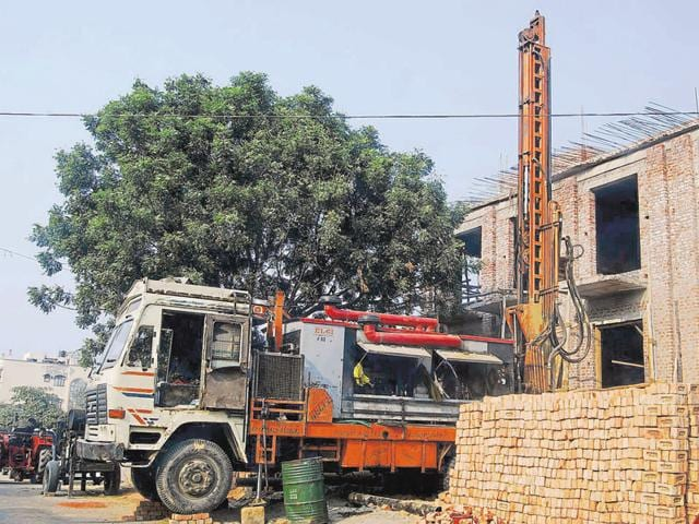 More than half of Gurgaon's population depends on untreated water from illegal borewells.
