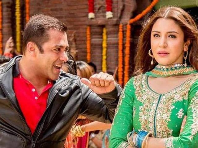 Salman Khan and Anushka Sharma in a still from Sultan.