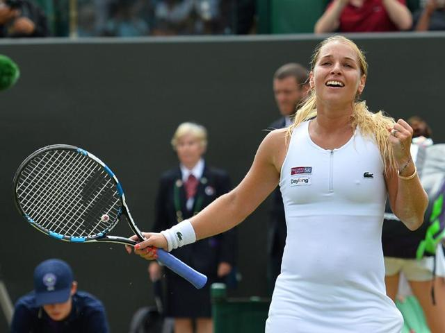 It will be all white for bride-to-be Cibulkova on ladies' final day at Wimbledon