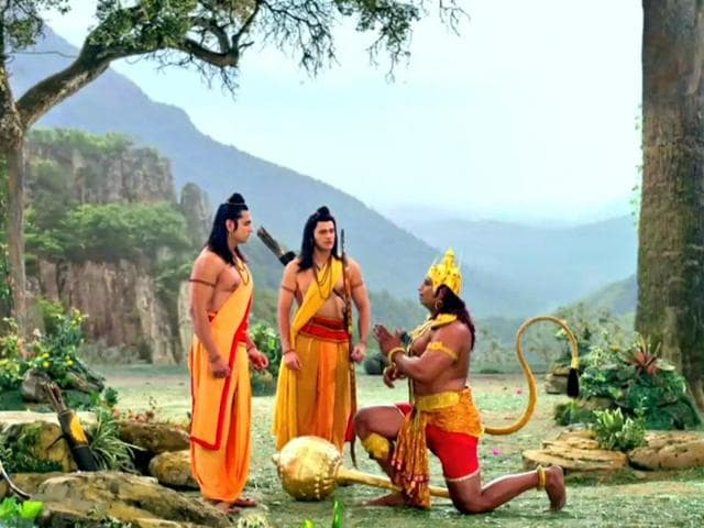 Every character on Siya Ke Ram has got eight replicas of each costume to be safe in case they get drenched in rain.
