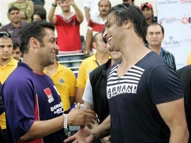 Pakistani cricketer Shoaib Akhtar wants Salman Khan to be the lead if his biopic ever gets made.
