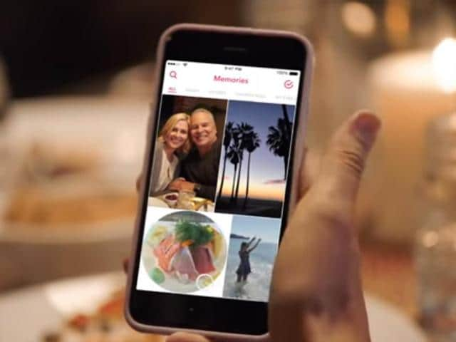 """The new feature, called """"Memories,"""" is an album within the app where users can save photos and videos which they can later upload to their """"Story,"""" a slide show of contents that disappears after 24 hours. Until now, photos and videos had to be immediately uploaded after being recorded."""
