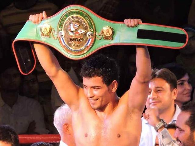 A file photo of Indian boxer Neeraj Goyat.