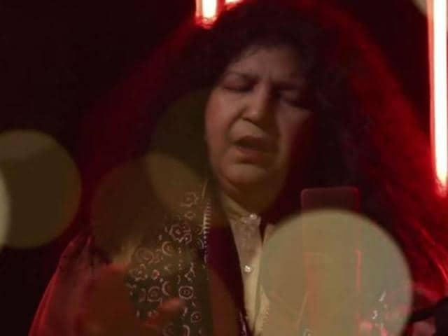 Abida Parveen sings Noor E Ilahi. (YouTube grab)