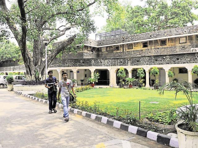 Ambedkar University at Kashmeri Gate. The cutoff for Ambedkar University touched 100%  for a few subjects this year.