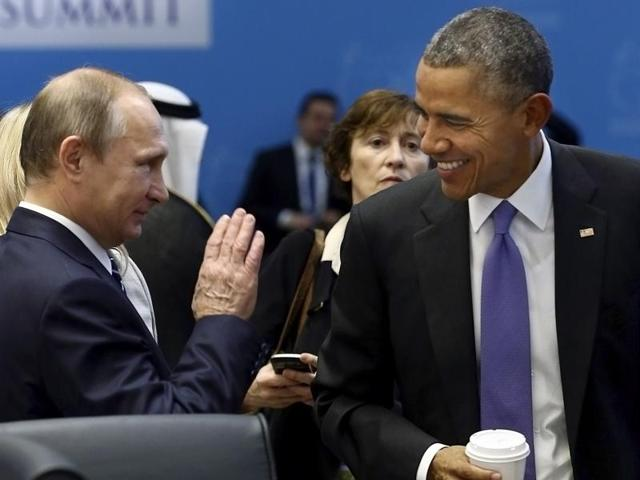 Relations between Russia and the United States have been strained by disagreements over the conflict in Syria.
