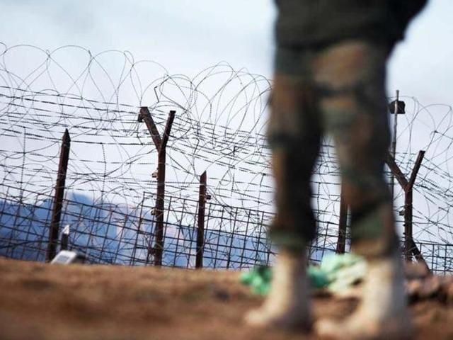 Kashmir firing,Ganderbal,Kashmir