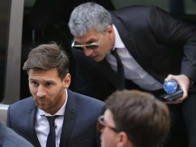 The court in Barcelona said in a ruling that Messi and his father defrauded the Spanish tax office of almost 4.2 million euros between 2007 and 2009 by using a web of shell companies to evade taxes on income from the player's image rights.