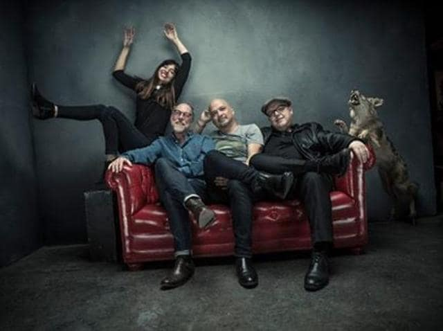 Pixies will come out with their new album titled Head Carrier in September 2016.