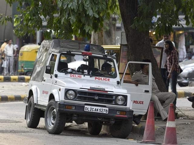 Delhi's QRT vehicle is usually a Maruti Gypsy or an old Ambassador car outsourced from private cab companies. And, the men driving these vehicles are not police officers. They work for the cab firms.