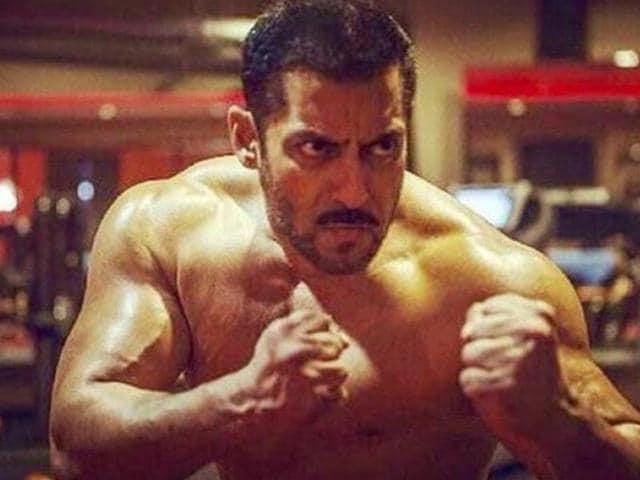 Salman Khan as a wrestler in Sultan.