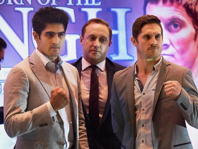 Vijender Singh,Kerry Hope,Lee Beard