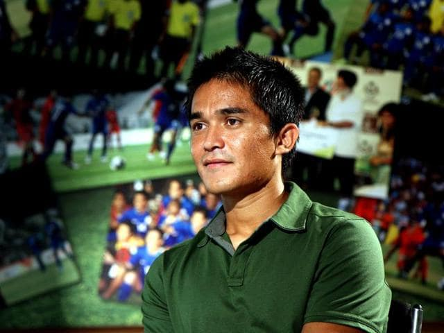 Sunil Chhetri prefers home-cooked meals made by his mother