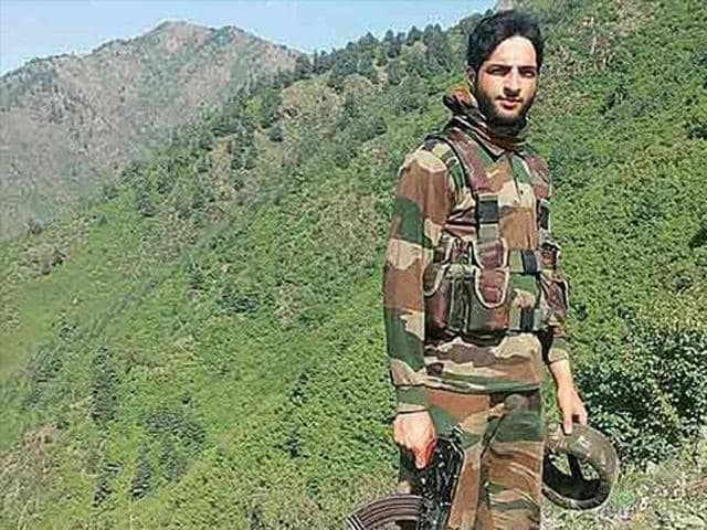 Burhan Wani, the most wanted regional commander of the Hizbul Mujahideen, was all over the internet and was involved in recruiting young Kashmiris for jihad.(Photo from social media)