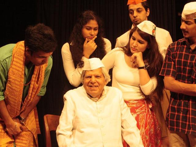 Gopal Sharman, founder of Akshara Theatre.